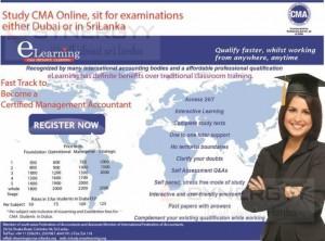 CMA E-learning Registration and Course Fee for Sri Lanka and Dubai Students – January 2014