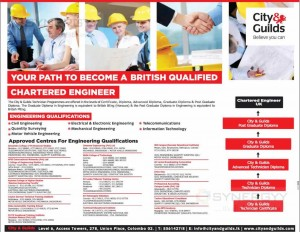 Chartered Engineer – UK – Course details and Approved Centres in Sri Lanka – January 2014 Update