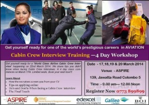 Cabin Crew Interview Training - 4 Day Workshop