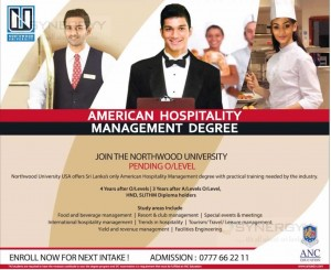 American Hospitality Management Degree – From ANC Education