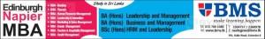 Edinburgh Napier MBA in Srilanka from BMS Srilanka