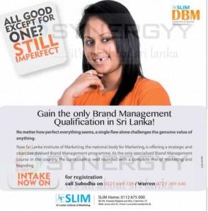 Diploma In Branding From SLIM