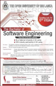 The Bachelor of Software Engineering – The Open University of Srilanka