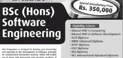 BSc (Hons) in Software Engineering