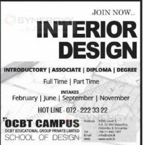 Interior Design Courses in Srilanka