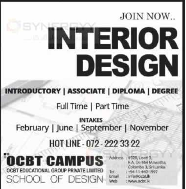 Part Time Interior Design Courses Interior Design Courses In Srilanka  Education Synergyy