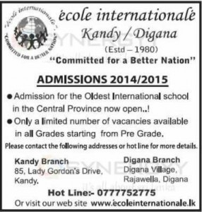 Ecole Internationale Kandy Digana