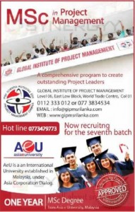 MSc in Project Management by Asia e University