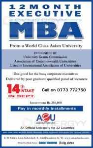 12 Month Executive MBA from Asia e University