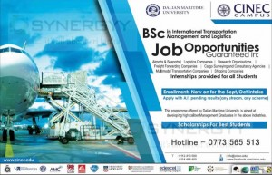 BSc in International Transportation Management and Logistics for CINEC Campus