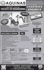Chartered Engineer Course from Aquinas College, Colombo
