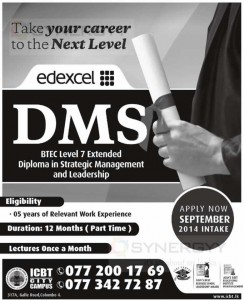 Diploma in Strategic Management and Leadership (BTEC Level 7) from ICBT Campus