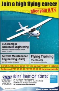 Aviation degree programmes and Pilot Training Programme from Asian Aviation Centre – Application calls now
