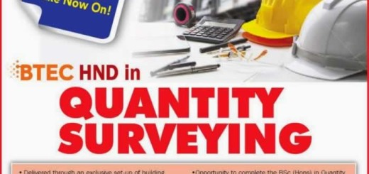 BTEC HND in Quantity Surveying in Sri Lanka by BCAS Campus