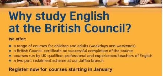 British Council English Courses in Sri Lanka