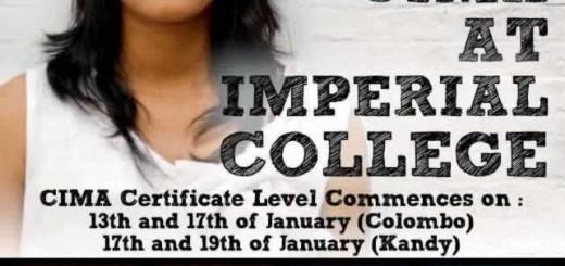 CIMA Certificate Level at Imperial College