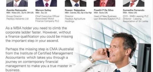 CMA (Australia) for a MBA Holder