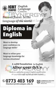 Diploma in English from ICBT Campus