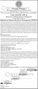 Diploma in Human Resource Management (DHRM) – University of Kelaniya – Application calls now