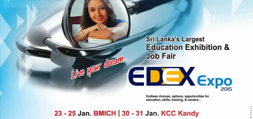 EDEX Expo 2015 – Educational and Job Exhibition from 23rd to 25th January 2015