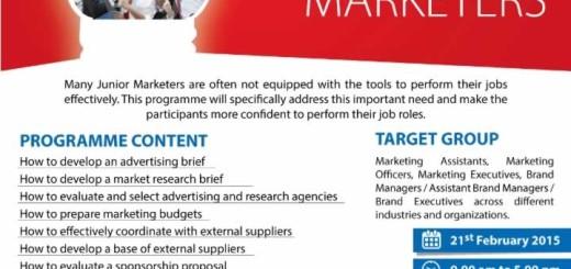 Essential Toolkit for Junior Marketers – Workshop by Prasanna Perera