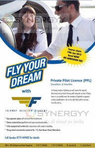 Fairway Aviation Academy - Private Pilot License (PPL) Programme – Enrollment now