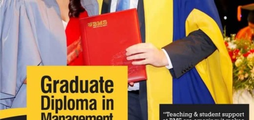 Graduate Diploma in Management leading to Masters in Business Administration (MBA) from BMS – Applications calls now