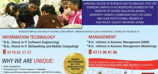 Horizon Campus IT and Management Degree Programme – Application calls now