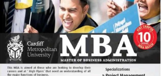 ICBT Cardiff Metropolitan University MBA Programme