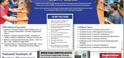 IT Certificate and Diploma Courses from NIBM