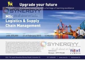 M.Sc Logistics & Supply Chain Management of Birmingham City University by next Campus