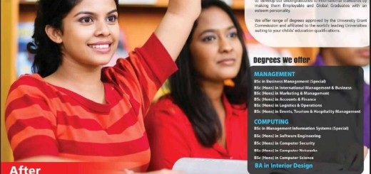 Management and Computing Degree Programmes at NSBM – Application calls now