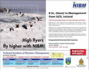NIBM - B Sc. (Hons) in Management Degree Programme