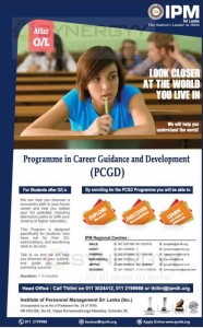 Programme in Career Guidance and Development– IPM – Application calls now