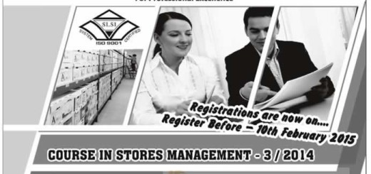 Stores Management by Institute of Supply and Materials Management (ISMM)