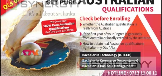 Australian Degree Qualifications in Sri Lanka