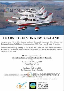 Learn Private Pilot Licensing the International Aviation Academy of New Zealand