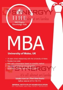 University of Wales MBA in Sri Lanka