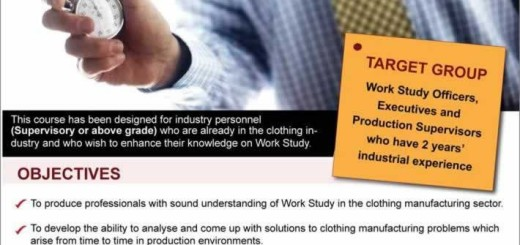 Certificate of Attendance in Work Study-Part Time Basis by Brandix
