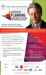 Corporate Planning Workshop in Colombo Sri Lanka- 30th March 2015