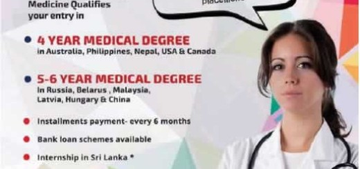 Foreign Medicine Degree Cost to Srilankan Student