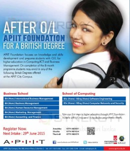 API IT Foundation Degree Programme