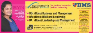 BMS offers Bachelor Degree programme of Northumbria University Newcastle – New Enrollment Opens now
