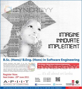 IT Bachelor Degree form APIIT