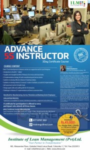 Advance 5S Instructor – 3Day Certificate Course by Mr.Thilak Pushpakumara