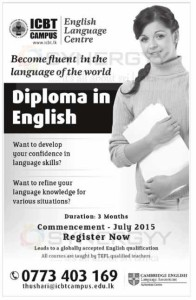 Diploma in English by ICBT Campus