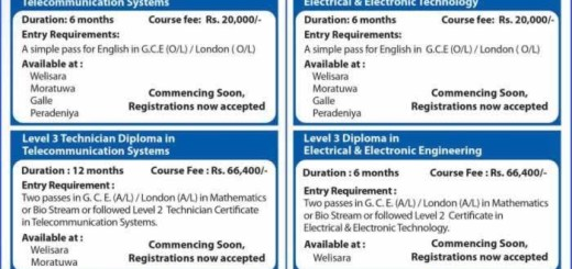 Sri Lanka Telecom Training Centre Telecommunication Courses affiliated by City & Guilds