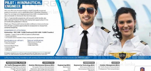 Become a Pilot in Sri Lanka