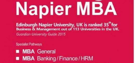 Edinburgh Napier MBA in Sri Lanka