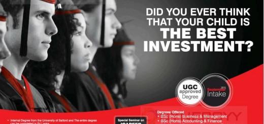 University of Salford Manchester Bachelor Degree Programme in Sri Lanka by IIHE